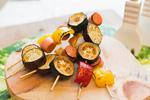 焼き鳥風 野菜のオーブン焼き