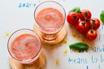 バジル香るトマトのスムージー