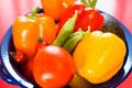 タイトル:カラフル新鮮野菜