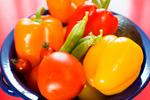 カラフル新鮮野菜