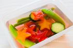 野菜とマリネ液