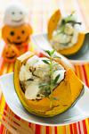 かぼちゃにのせのせグラタン