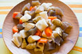タイトル:乱切り野菜