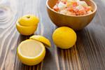 柚子と塩ヨーグルト漬け