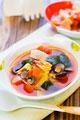 タイトル:カブとしじみのトマトスープ