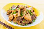 タケノコと豚バラのオイスターソース炒め