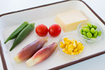 野菜ゼリー材料