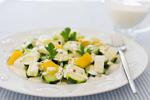 フレッシュ夏野菜のヨーグルトペッパーソース
