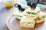 チーズタルタルのサンドイッチ