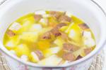 具材とスープ