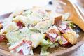 タイトル:手作りドレッシングのシーザーサラダ