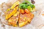 野菜たっぷりスパニッシュオムレツ