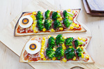 鯉のぼりピザ
