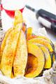 タイトル:スパイス風味の野菜ソテー