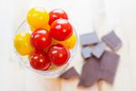ミニトマトとチョコレート