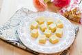タイトル:高野豆腐の生キャラメル風 ハチミツ味