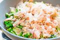 タイトル:春野菜と鰹節