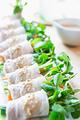 タイトル:ハリハリ野菜の豚しゃぶサラダ