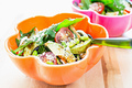 タイトル:ほうれん草と枝豆のサラダ
