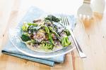 ブロッコリーと海苔の豆乳クリームパスタ