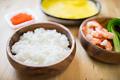 タイトル:てまり寿司の材料