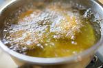 コロッケとサラダ油