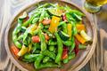 タイトル:枝豆のペペロンチーノ