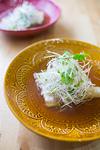 香味野菜とメカジキのレンジ蒸し