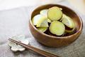 タイトル:さつま芋のレモン煮