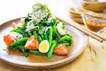 菜の花としらすの和風サラダ