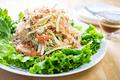 タイトル:カニカマの春雨サラダ