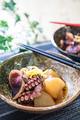 タイトル:蛸の桜煮