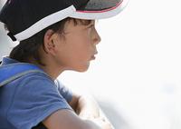 少年の横顔