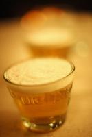 ビールの入ったグラス