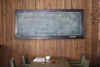 黒板のある部屋