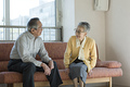 タイトル:老夫婦の会話
