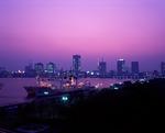 臨海副都心の夕焼け