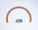 クラフト(虹とソファ)