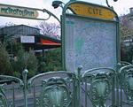 街角の案内板