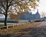 紅葉のシュノンソー城