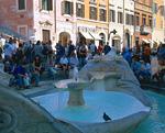 ローマのスペイン広場
