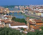 アルノ川とフィレンツェの町並