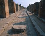 ポンペイ遺跡の道
