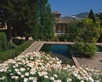 アルハンブラ宮殿の庭