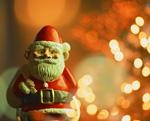 サンタクロースの人形