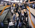 タイトル:通勤シーン