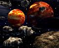 タイトル:木星イメージ(CG)