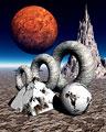 タイトル:惑星イメージ(CG)