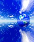 地球イメージ(CG)