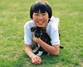 タイトル:少年とイヌ